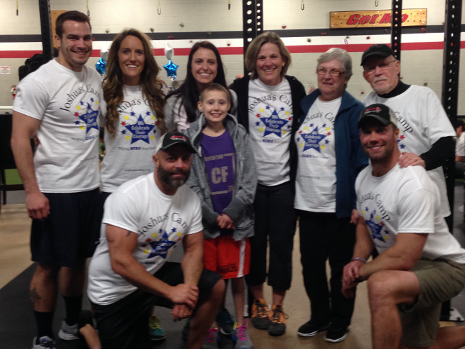 Crossfit for a cure at momentum fitness